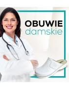 Buty, obuwie medyczne damskie dla lekarzy oraz pielęgniarek